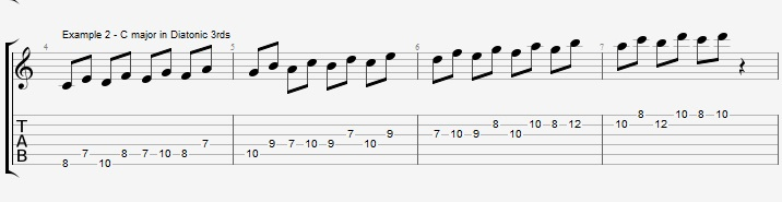 How to practice you scales and why - ex 2