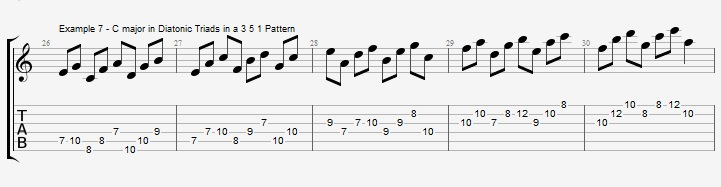 How to practice you scales and why - ex 7