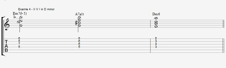 Play a standard with 2 types of Drop2 chords - ex 4