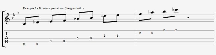 5 Bb Jazz Blues licks - Jens Larsen