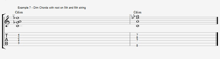 How to play Jazz Chords on Guitar - ex 7