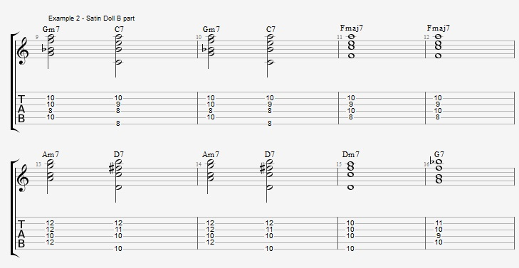 playing-a-jazz-standard-with-pentatonic-scales-satin-doll-ex-2