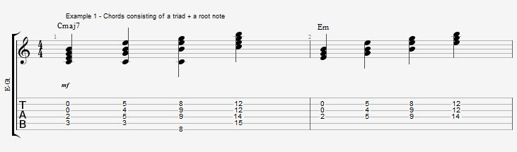 triads-easy-3-note-jazz-chords-ex-1