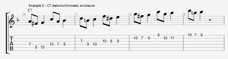 Chromatic passing notes - Instant Bebop guitar lesson! - Jens Larsen