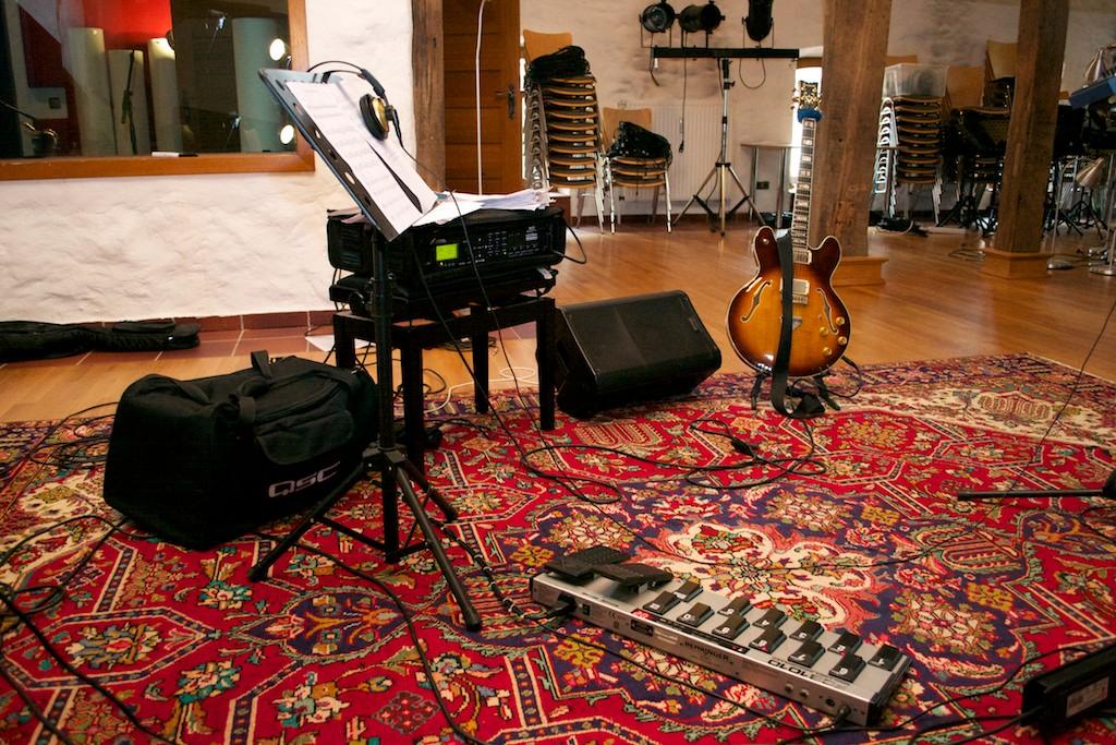 Setup in Fattoria Musica
