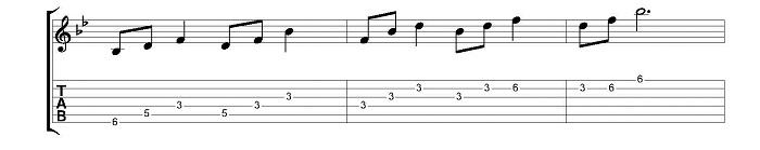 triads exercise 2