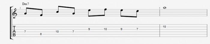 Scales in Diatonic Arpeggios - ex 2