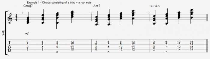 Jazz Chord Essentials - Triads - ex 1