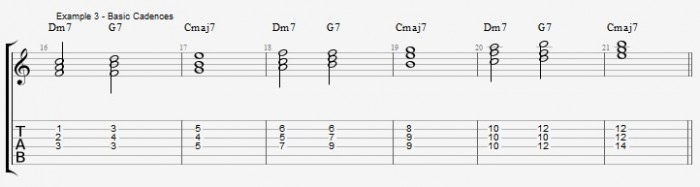 Jazz Chord Essentials - Triads - ex 3