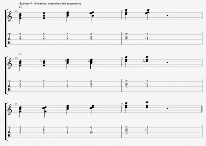 Jazz Chord Essentials - Triads - ex 5