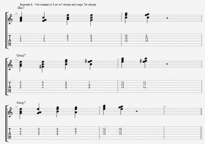 Jazz Chord Essentials - Triads - ex 6