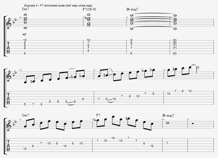 Dominant 7th Chord Scales Part 1 Jens Larsen