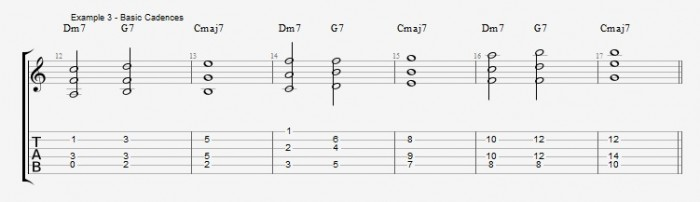 Jazz Chord Essentials - Open Triads Ex 3