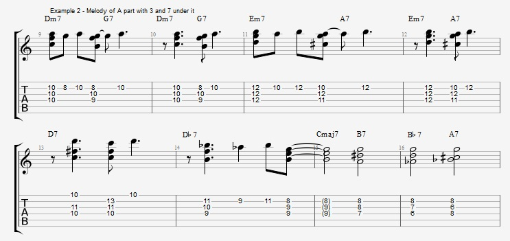 Chord Melody For Guitar Part 1 Jens Larsen