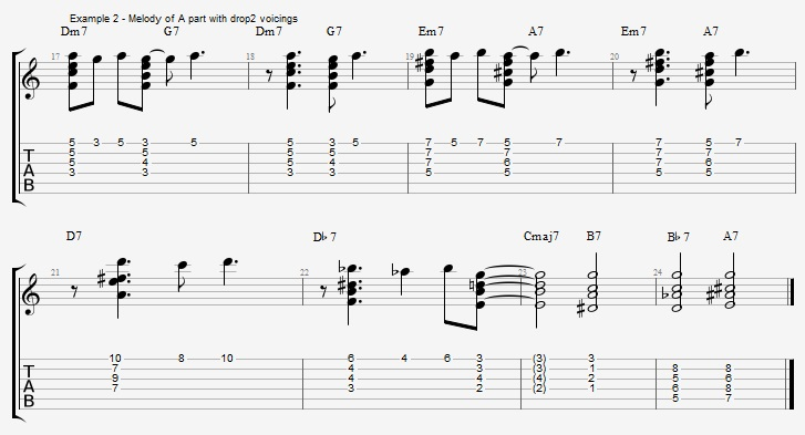 Chord Melody For Guitar Part 1 Jens Larsen