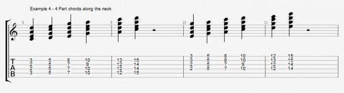 Diatonic chords in pentatonic scales ex 4