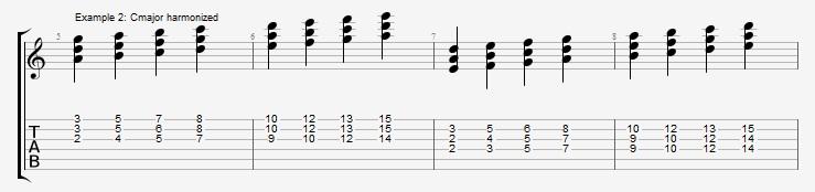 Jazz Chord Essentials - 3 part Quartal Harmony Ex 2