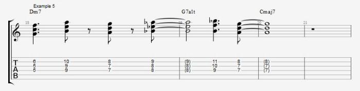 Jazz Chord Essentials - 3 part Quartal Harmony Ex 5