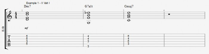 Melodic Minor - Altered Scale - ex 1