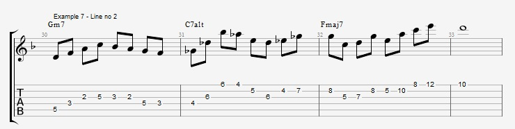 Open Triads in Solos - example 7