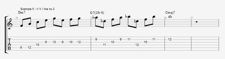 Diminished Scale on Dom7th Chords ex 5