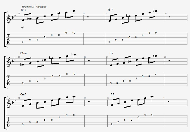 Jazz Blues Soloing - example 2