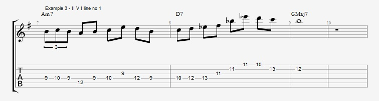 Harmonic minor dominant lines ex 3