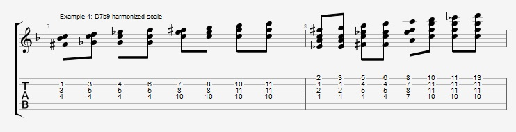 Soloing with Chords Part 1 ex 4