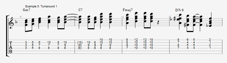 Soloing with Chords Part 1 ex 5
