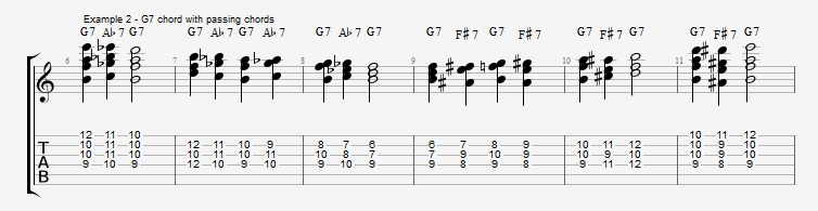 Chromatic Chords - Part 1 - ex 2
