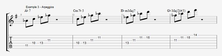 Tritone Substitution - ex 3