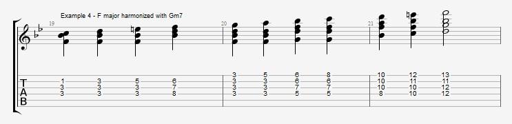 Jazz Blues Chord Solo - ex 4