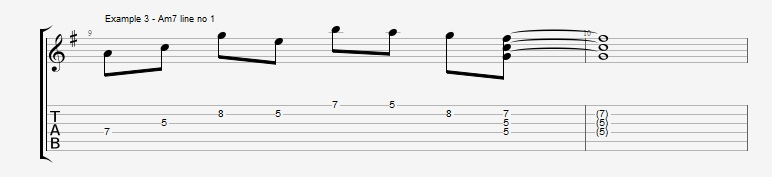 Adding Chords to Single Note Lines - Part 1 - Ex 3