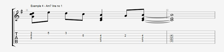 Adding Chords to Single Note Lines - Part 1 - Ex 4
