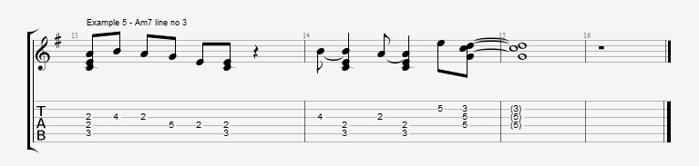 Adding Chords to Single Note Lines - Part 1 - Ex 5