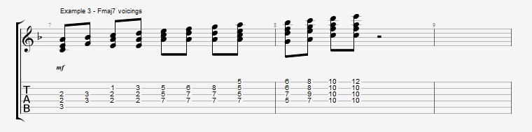 Adding Chords to Single Note Lines - Part 2 - ex 3