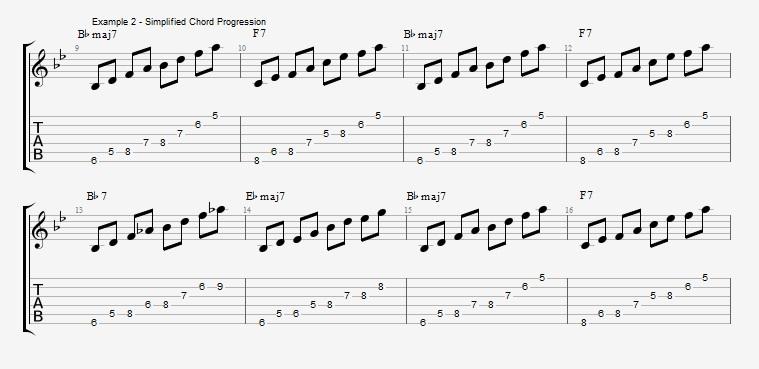 Rhythm Changes - part 1 - ex 2