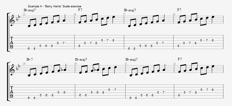 Rhythm Changes - part 1 - ex 4