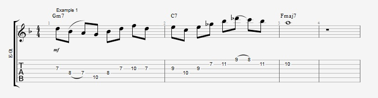 10 Altered dominant lines ex 1