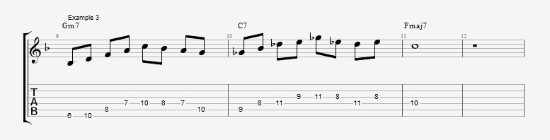 10 Altered dominant lines ex 3