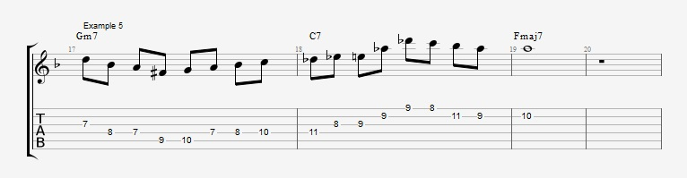 10 Altered dominant lines ex 5