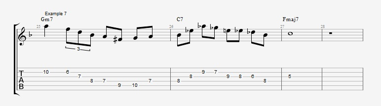 10 Altered dominant lines ex 7