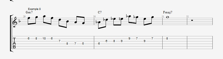 10 Altered dominant lines ex 8