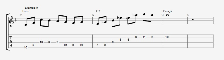 10 Altered dominant lines ex 9