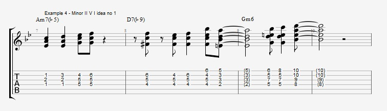 Soloing with Chords Part 2 ex 4
