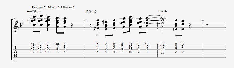 Soloing with Chords Part 2 ex 5