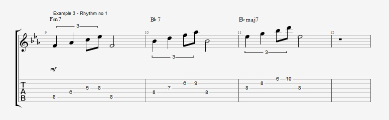 Triplet rhythms - Part 1 Ex 3