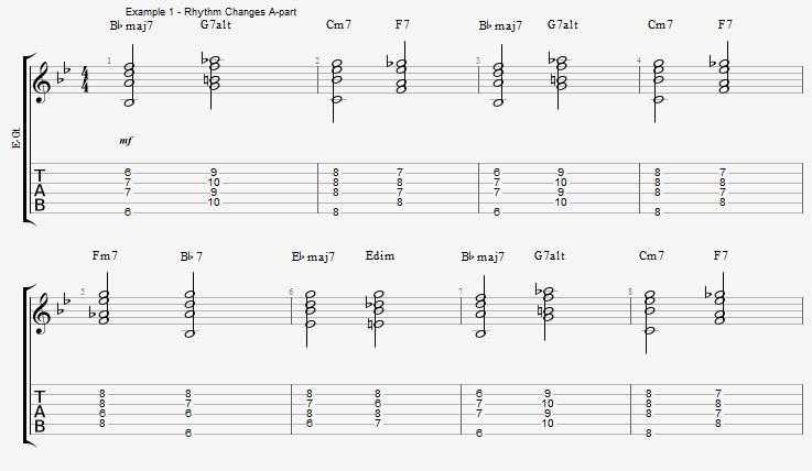 Rhythm Changes - part 2 - ex 1