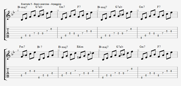 Rhythm Changes - part 2 - ex 5
