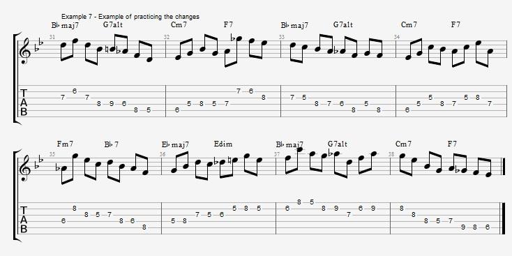 Rhythm Changes - part 2 - ex 7